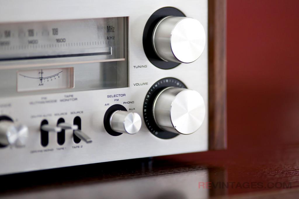 Technics SA-300 Tuning Dial and Volume Knob