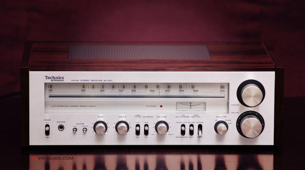Technics SA-300 FM/AM Stereo Receiver