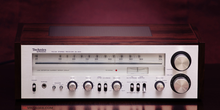 TECHNICS SA-300 Stereo Receiver