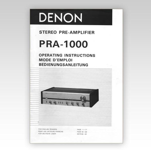 PRA-1000_Original