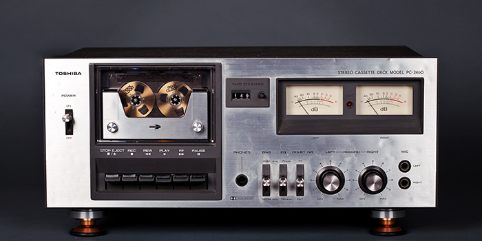 Toshiba PC-2460 Cassette Deck