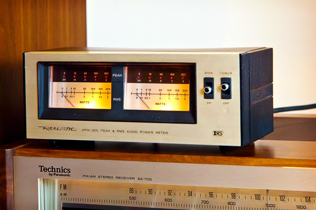 Realistic APM-200 Audio Power Meter