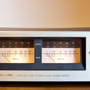 Realistic APM-200 Audio Power Meter for sale