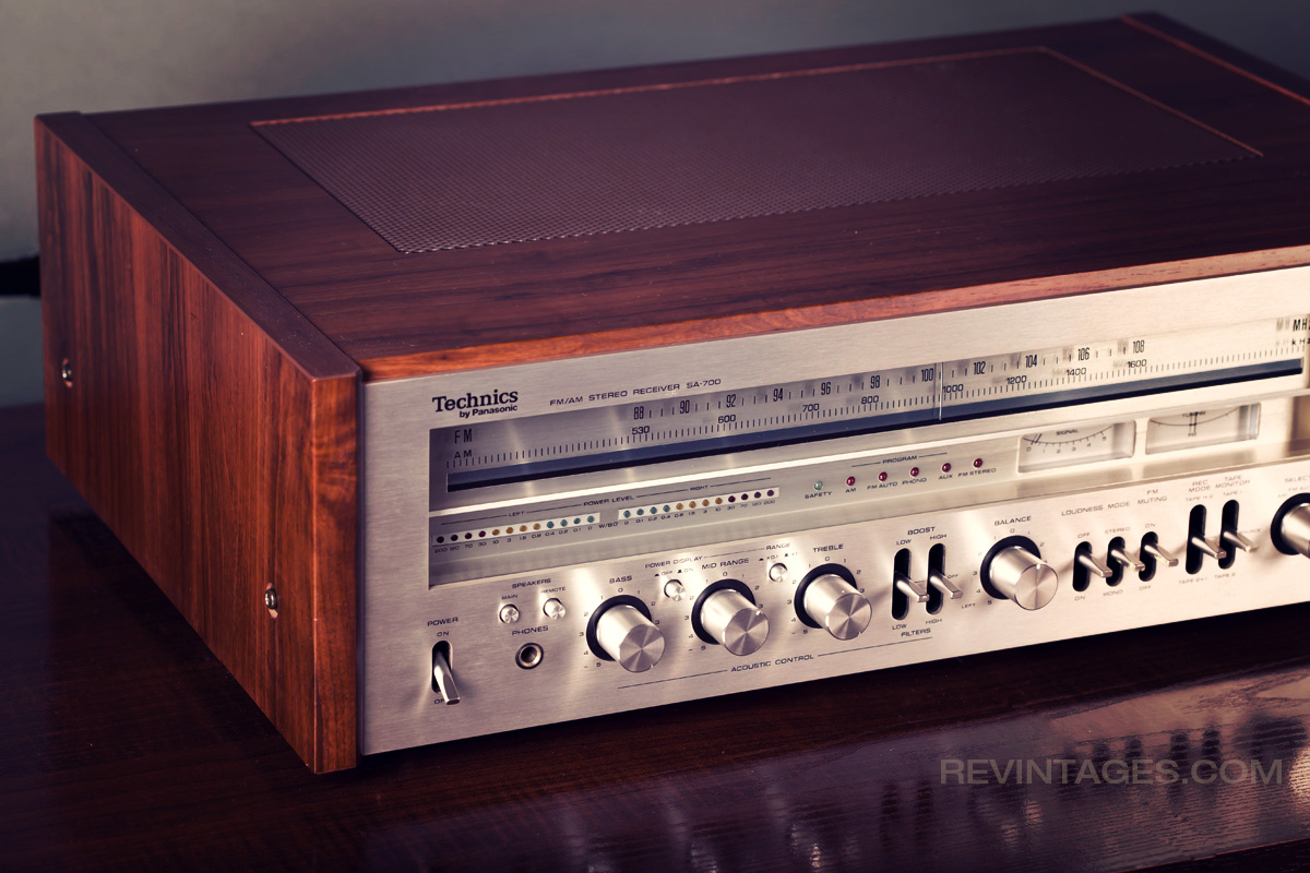 TECHNICS SA-700 Stereo Receiver | REVINTAGES