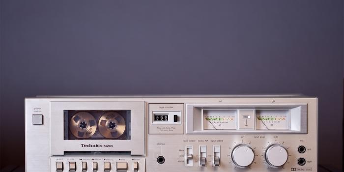 Technics RS-M205 Cassette Deck (SOLD)