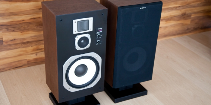 Restored and Improved: Sony SS967 Speakers