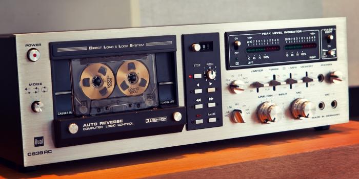 Dual C 839 RC Cassette Deck